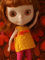Pebbles (Helena / Funny Bunny) Tags: doll pebbles blythe olds bl funnybunny kozykape fbfashion