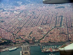 Barcelona (ribizlifozelek) Tags: barcelona sea port puerto mar spain aerialview
