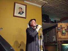 Greg Palast enjoying his own humor (Kate Anne) Tags: brooklyn palast voxpop gregpalast