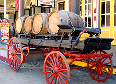 Wagon and Barrels (Keith Lovelady's Photography) Tags: red brown color colour building colors yellow buildings wagon sand colours oldbuildings dirt sacramento oldbuilding oldsac wagonwheel winebarrels sacramentoca winebarrel wagonwheels oldwest oldtownsacramento sacramentocalifornia theoldwest oldtownsac goldrushday sacramentocaliforniagoldrushday oldsacramentocaliforniagoldrushday sacramentocagoldrushday oldsacramentocagoldrushday oldtownsacramentocagoldrushday oldtownsacramentocaliforniagoldrushday woodsidewalk
