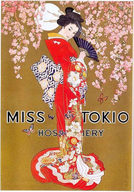 Miss Tokio Hosiery ad, 1927