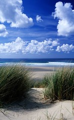 dunes at Gwithian (rcadd) Tags: sea sky beach clouds cornwall dunes kernow penwith