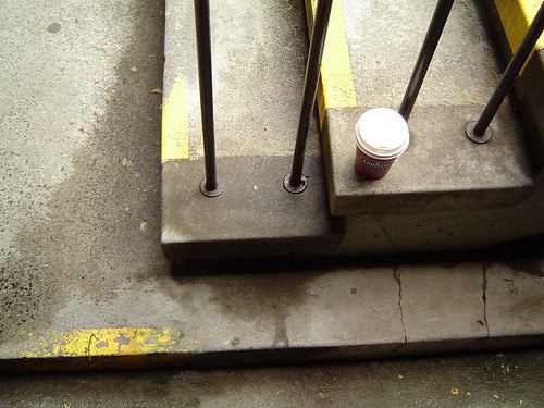 Coffee on the stairs, Latrobe