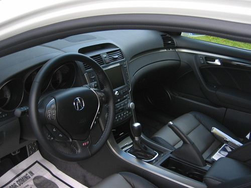2007 Acura TL Interior · TL Interior, originally uploaded by washcaps8.