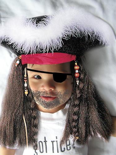 The Dread Pirate Benjamin!