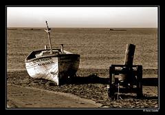 Resquicios del pasado (Chema Concellon) Tags: espaa sepia andaluca spain barca playa mediterrneo mlaga pescadores torredelmar axarqua 100vistas outstandingshots chemaconcelln newphotographers