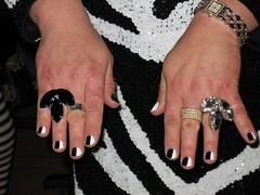 Rita's Cruella De Vil Finger Nails (ritaknight1999) Tags: tv cd crossdressing tgirl transgender tranny transvestite crossdresser cruelladevil cruella trannie