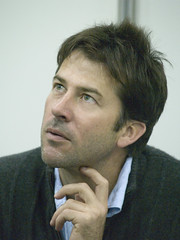 Joe Flanigan (Honey Monster) Tags: london tv expo scifi actor stargateatlantis joeflanigan