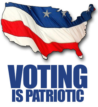 Voting is Patriotic (USA) by farlane, on Flickr
