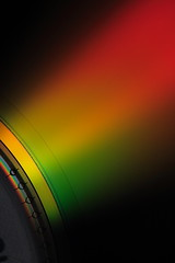 DVD (Dani3D) Tags: iris macro closeup dvd rainbow gradient tones