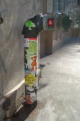 Pipe dreams. (c_damage) Tags: nyc streetart ny sticker 2006 cdamage lobsterroll melvind billikidbrand