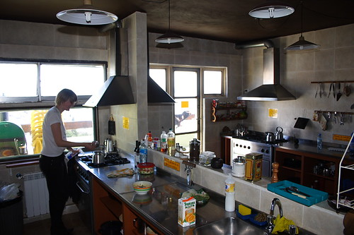 food patagonia kitchen argentina hostel backpacking bariloche