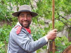 picarn (sergio_conda) Tags: argentina sonrisa sombrero gaucho lanza sanantoniodeareco guacha fiestadelatradicion rebenque molinacampos