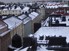 First snow, Helsinki on November 7th 2006 (Anna Amnell) Tags: november winter helsinki talvi 600views korkeavuorenkatu helsinkipanoraama