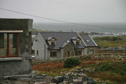 Gray Irish Houses