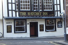 Hatchet Inn Entrance