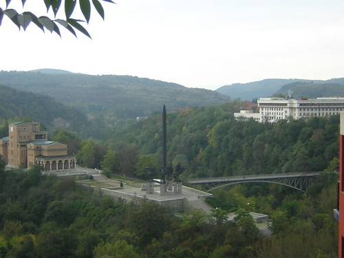 View on the monument celebrating the liberation of Bulgaria