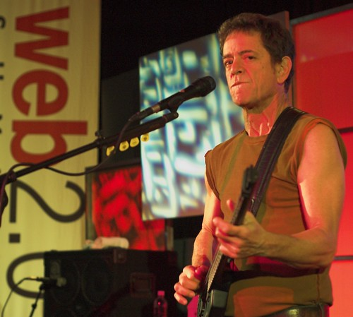 Lou Reed at Web 2.0 by ptufts.