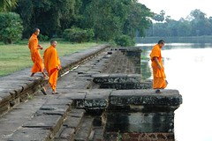 Angkor Wat - monks