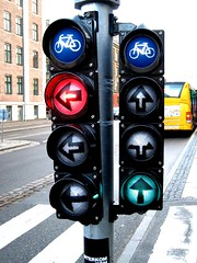 Copenhagen Bike Traffic Lights