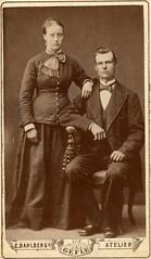 1880tal Kristina Karlsdotter och Frans Andersson