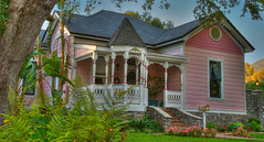 Pretty In Pink - Monrovia California (_Allen_) Tags: california old house beautiful geotagged antique monrovia hdr getilt0 gerange1000 geolat34153517 geolon11800179