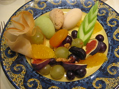 Dessert: Salade de Fruits - Djeuner  l'Huitrire @ Lille (( I was ) Lost in Tokyo) Tags: food france fruit french dessert lunch restaurant salad lille salade nord 59 francais djeuner lhuitrire djeunerlhuitrire lhuitriere