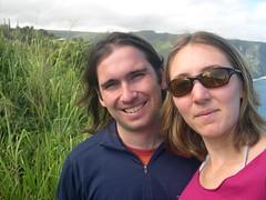me and nick in waipio (abmatic) Tags: hawaii bigisland waipio halekukui
