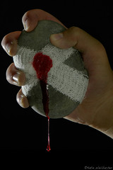 like squeezing blood from a stone - by katiew