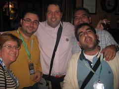 Con PitoDoble y Garrafablog