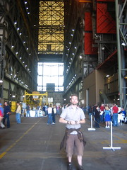 Andy in the VAB