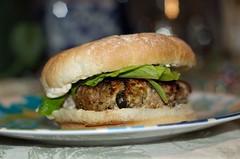 greek style turkey burger