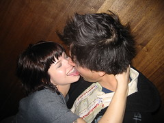 Makeout Session (Shawnt) Tags: nyc love night kissing phil manhattan makeout steph passion lowry annex passionate motorcity