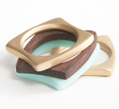 layers ring set - erin tracy designs