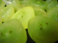 green grapes (Talkingsun) Tags: macro green slice grape