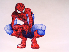 Spidey - Drawing