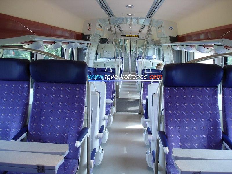 L'intérieur de l'AGC (2ème classe)