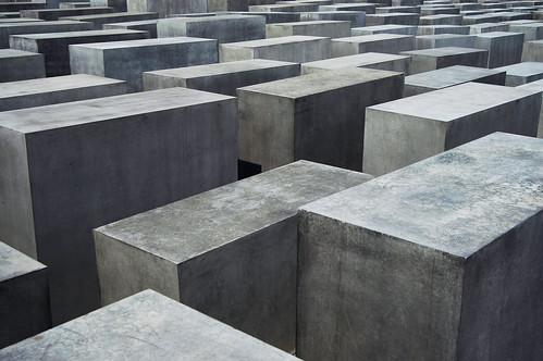 האנדרטה לזכר שואת יהודי אירופה ליד שער ברנדנבורג