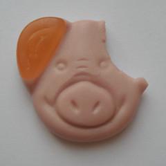 Oops! (opaque haze) Tags: pig percy thekingofsweeties nowifeelsick