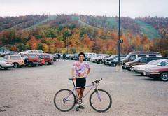 At the Base of Whitetail Ski Resort (bundokbiker) Tags: fat city team chance yo eddy whitetail scans lilac lavender purple mountainbiking90s