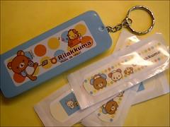 Kawaii ^-^ (ffi) Tags: cute japan kawaii bandages rilakkuma