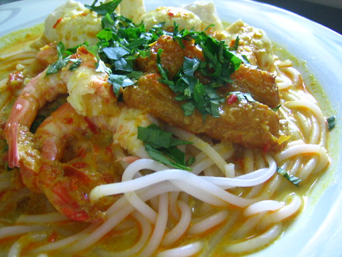 prawn laksa recipe. Laksa + Recipe