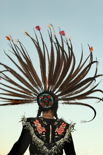 Sunset Headdress