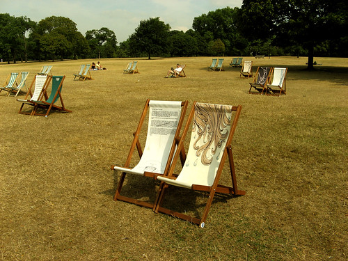 Lover Chairs in Hyde Park