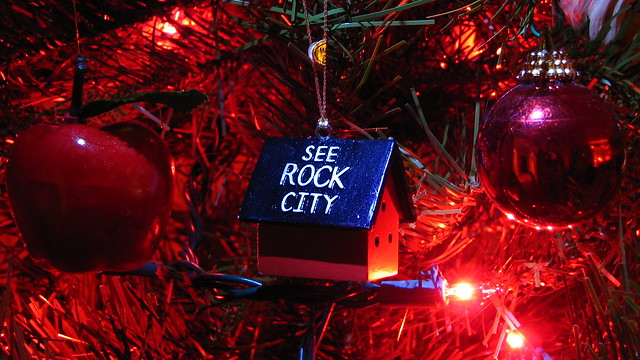 See Rock City ornament