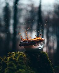 How do you like your coffee? (noberson) Tags: coffee splash mug drops bokeh nikon tassen 58products kiss mood moody