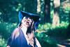 Blue (Vr$ionSixx) (Eugene Patrick) Tags: forest blue light shadows beauty hat girl fashion dof lightroom canon60d sylvia plath mirror poetry sylviaplath