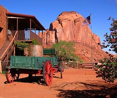 Trading Post (Sandra Leidholdt) Tags: park wood arizona usa southwest monument america us wooden sandstone unitedstates desert nation tribal american valley transportation vehicle americana desierto navajo americanwest oldwest navaho amricain americansouthwest tradingpost sandraleidholdt leidholdt sandyleidholdt