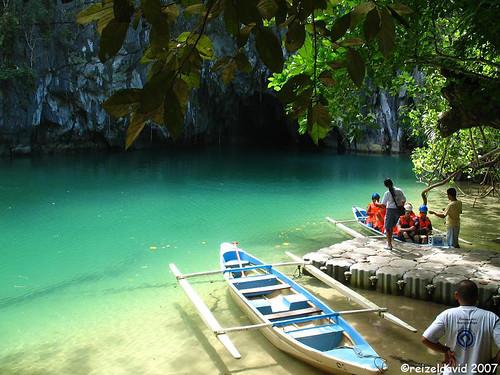 Paseos en bote por el Parque Nacional del Rï Subterraneo de Puerto Princesa