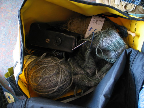 Yarn/camera bag